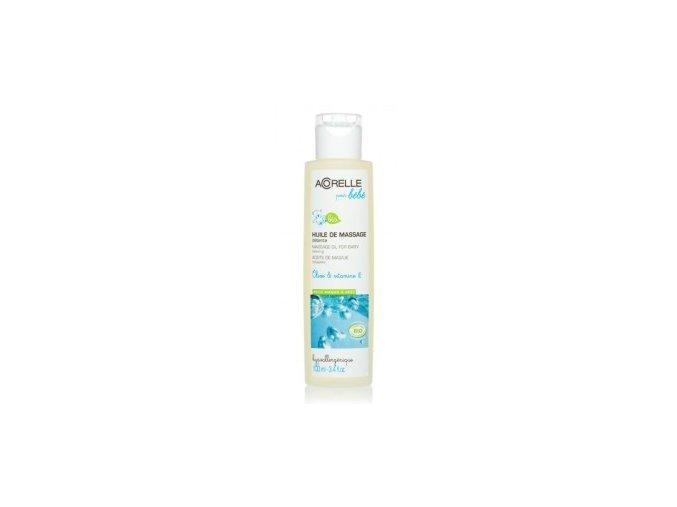 ACORELLE Masážní olej pro miminka a maminky 100ml