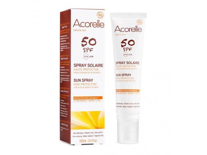 Acorelle Spray solaire SPF50