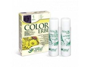 color erbe prirodni barva vlasy bio cerna 01
