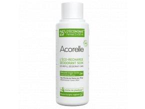 Acorelle Deodorant nahradni napln eco recharge deodorant roll on longue duree bio 100ml bionaturalia.cz