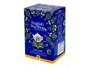 English TeaShop Čaj Earl Grey Fair Trade 20 sáčků BIO