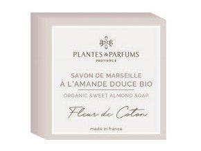 Plantes et Parfums tuhe mydlo Kvety bavlny s mandlovym olejem BIO 100g