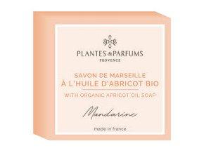 Plantes et Parfums tuhe mydlo Mandarinka s merunkovym olejem