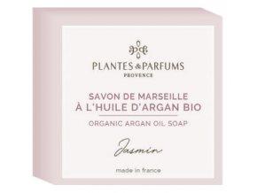 Plantes et Parfums tuhe mydlo Jasmin argan 100g