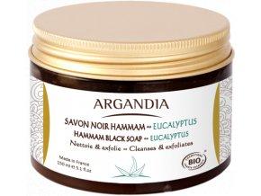 ARGANDIA Hammam černé mýdlo 150ml