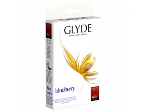 GLYDE Kondomy Bluberry 10ks