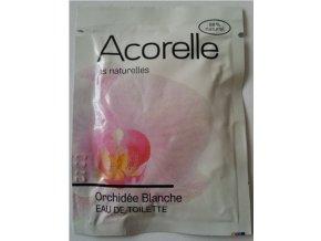 ACORELLE Toaletní voda Orchidej 3ml vzorek vonný kapesníček