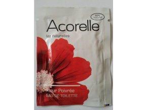ACORELLE Toaletní voda EDT Kořeněné květy 3ml vzorek vonný kapesníček