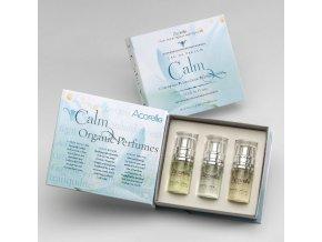 ACORELLE Dámská parfémová voda EDP Trio Calm 3x 10ml parfém neroli, lotusový sen, orchidej