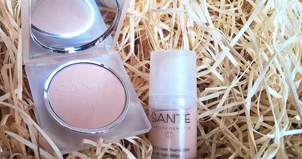 Recenze Make-up a Kompaktní pudr od Santé