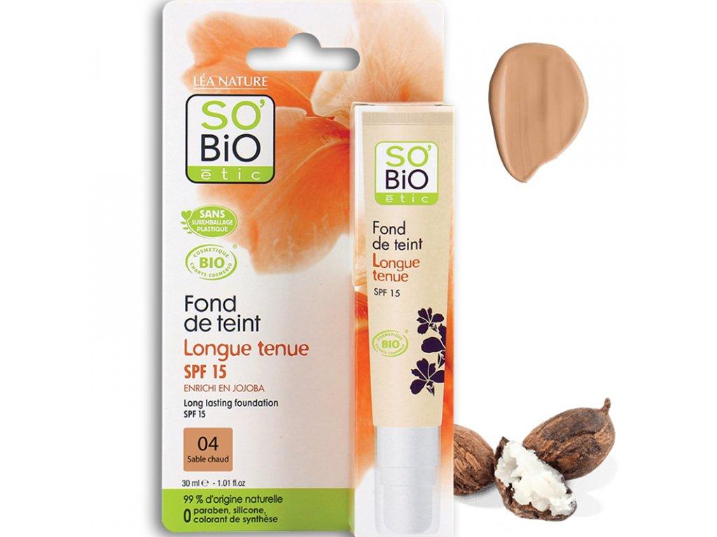 so bio etic make up 04 sable chaud 30ml