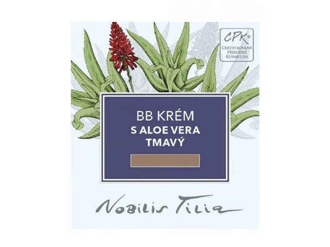 vzorecek bb krem s aloe vera tmavy nobilis tilia l