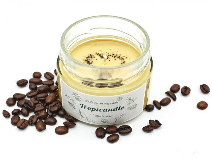 tropikalia prirodni sojova svicka tropicandle coffee mocha