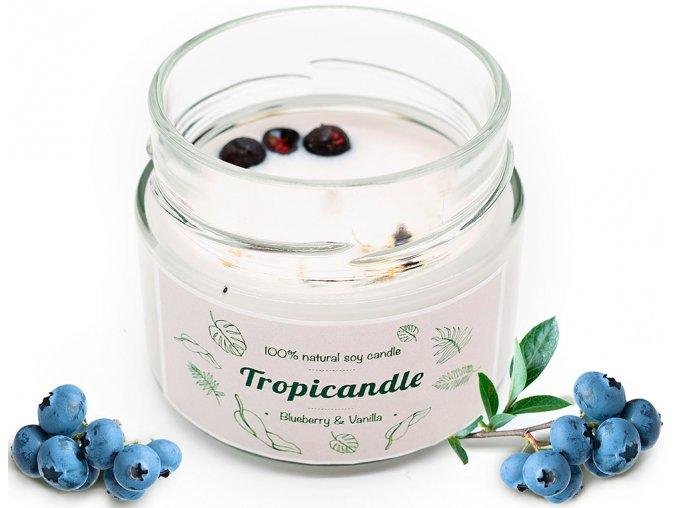 tropikalia prirodni sojova svicka tropicandle blueberry vanilla