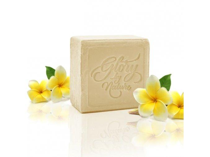 glory by nature exfoliacni mydlo na oblicej white clay soap na normalni a citlivou plet 80g