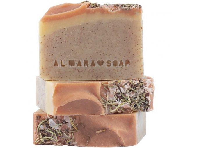 almara soap prirodni mydlo peeling walnut 90g