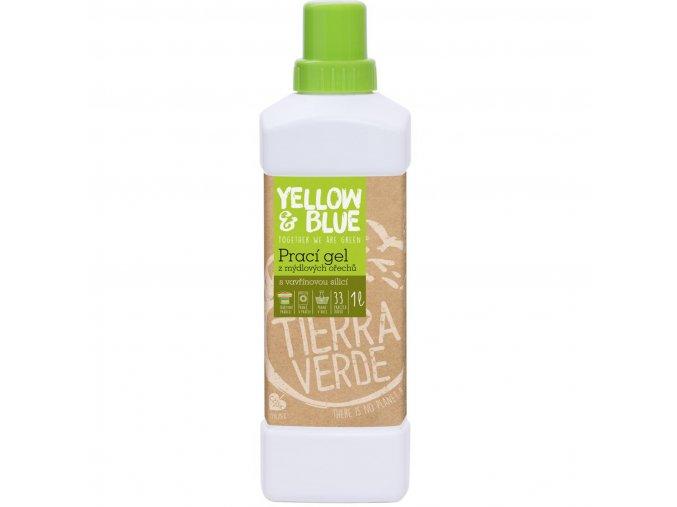 yellow blue praci gel z mydlovych orechu se silici vavrinu kubeboveho 1 l