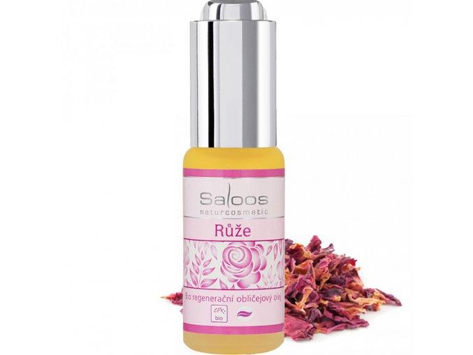 saloos regeneracni oblicejovy olej ruze bio 20ml