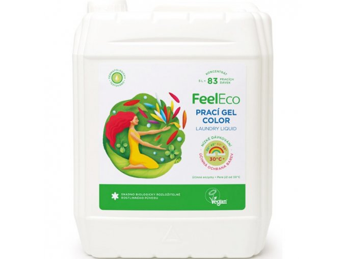 feel eco praci gel color na barevne pradlo 5l