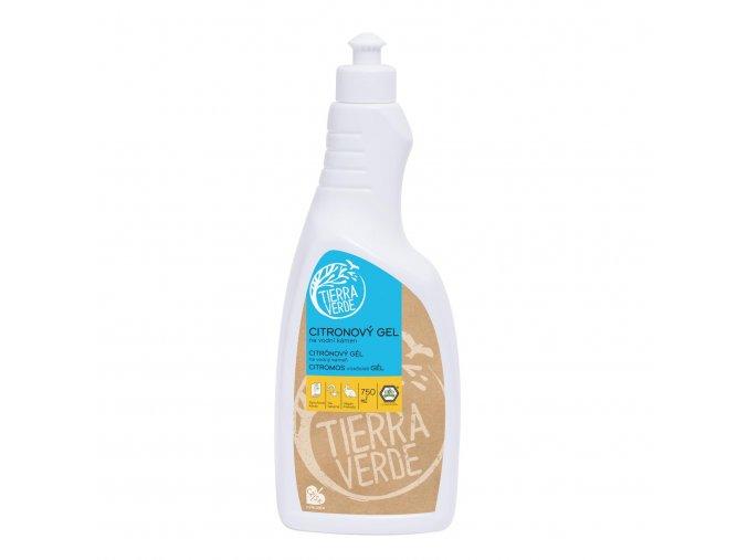 yellow blue citronovy gelovy cistic na vodni kamen 750 ml