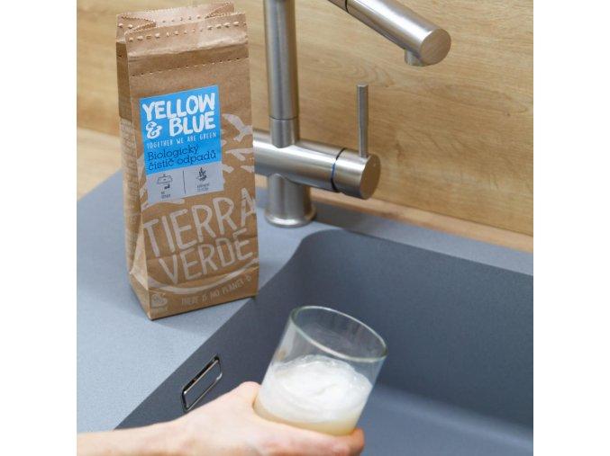 yellow blue biologicky cistic odpadu 500g