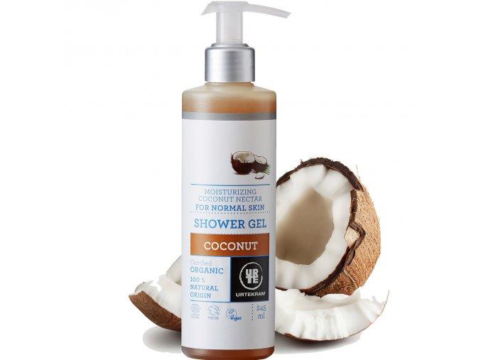 urtekram sprchovy gel kokosovy 245ml bio