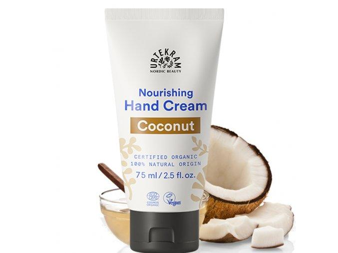 urtekram vyzivujici krem na ruce kokosovy 75ml bio