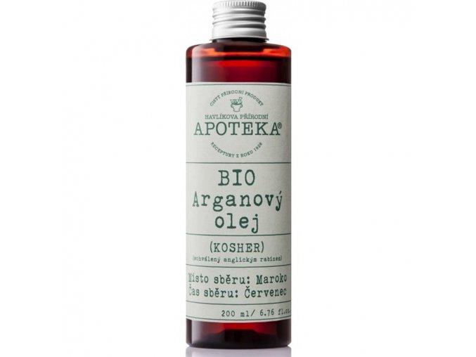 havlikova apoteka arganovy olej 200ml