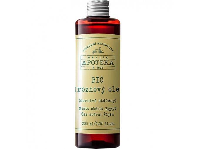 havlikova apoteka hroznovy olej 200ml