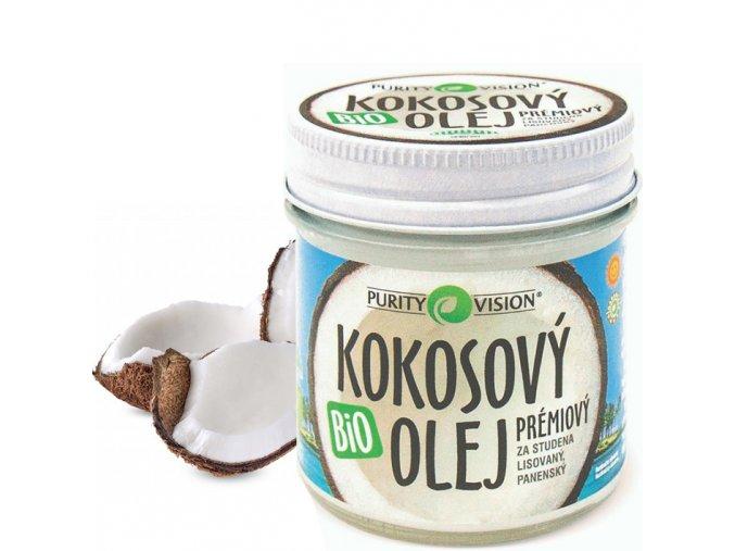 purity vision bio kokosovy olej panensky 100ml