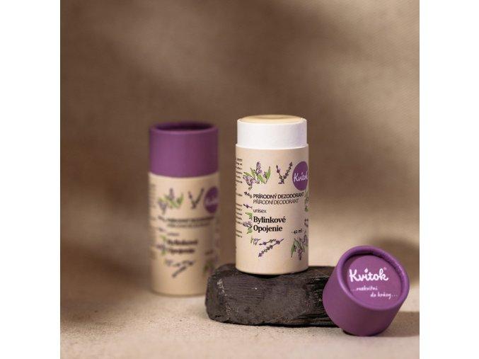 KVITOK tuhy deodorant bylinne opojeni unisex 42ml