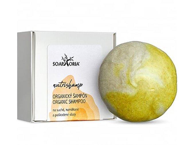 soaphoria nutrishamp prirodni tuhy sampon na suche a poskozene vlasy 60g