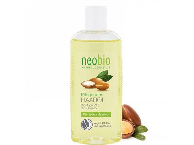 neobio vlasovy olej s bio aloe arganem 75ml