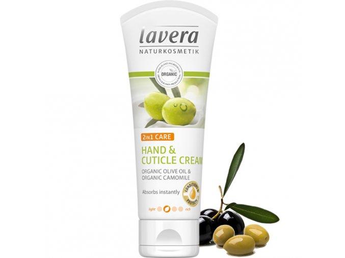 lavera krem na ruce a nehty 2v1 bio oliva bio hermanek75ml