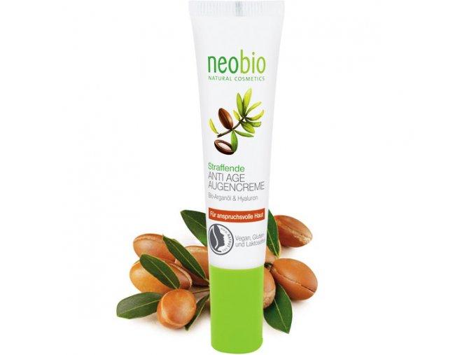 neobio anti age ocni krem bio arganovy olej hyaluron 15ml