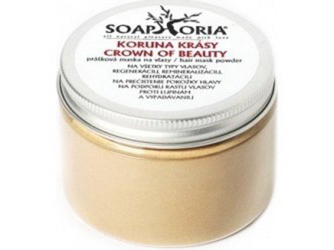 SOAPHORIA Henna Koruna Krásy Prášková maska na vlasy 100g