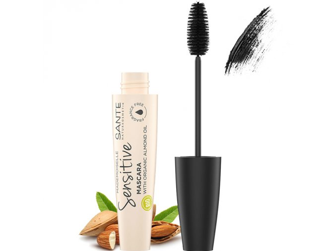 sante rasenka mademoiselle sensitive mascara 01 cerna 8ml