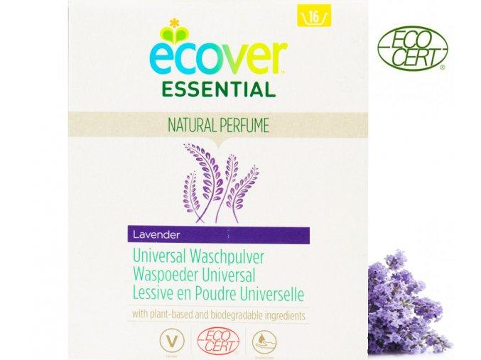 ecover essential praci prasek univerzalni 1 2kg ecocert