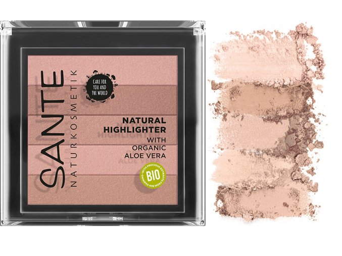 sante rozjasnovac natural highlighter 01 prirodni 7g