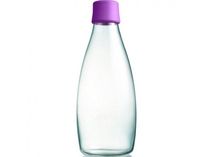 retap ekologicka lahev 0 8l fialova