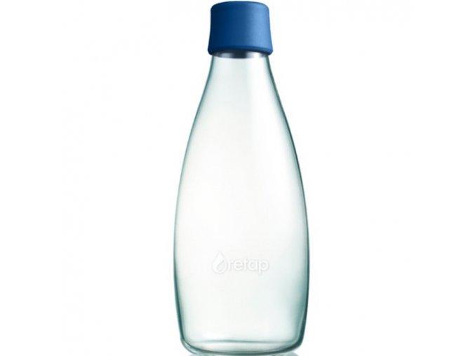 retap ekologicka lahev 0 8l tmave modra