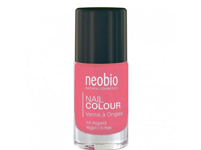 neobio lak na nehty 03 wonderful coral 8ml