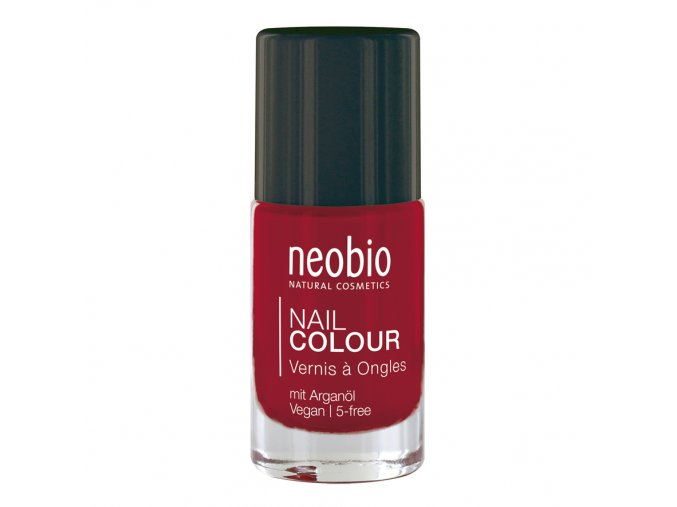 neobio lak na nehty 05 wild strawberry 8ml