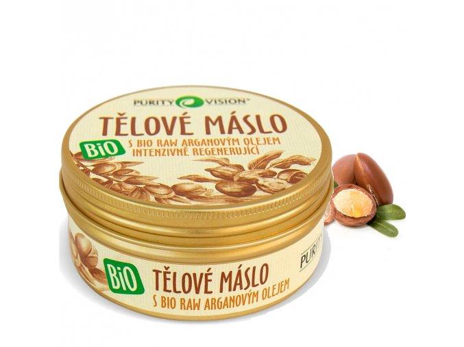 purity vision telove maslo s arganovym olejem bio 150ml