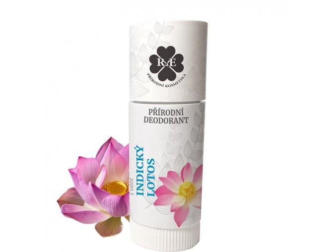rae prirodni deodorant tuhy bio indicky lotos 25ml