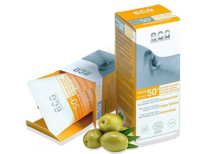 eco cosmetics opalovaci krem spf 50 bio 75ml