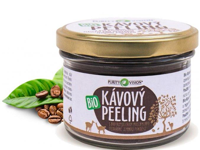 purity vision kavovy peeling bio 175g