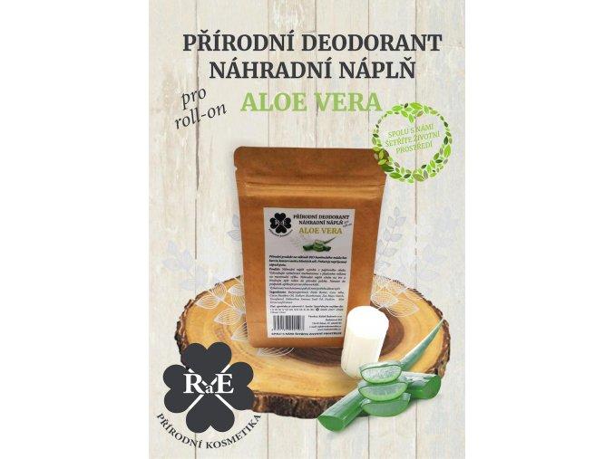 rae nahradni napln prirodni deodorant tuhy bio aloe vera