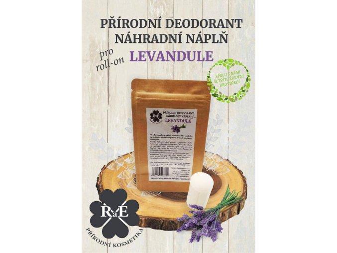 rae nahradni napln prirodni deodorant tuhy bio levandule