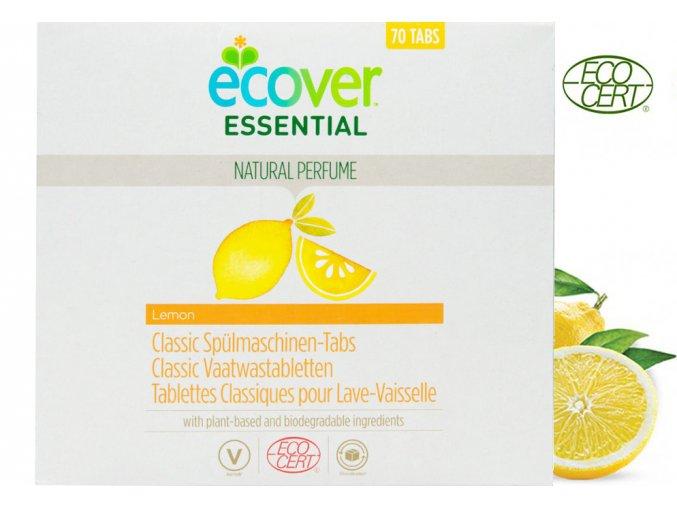 ecover tablety do mycky classic citron 1 4kg 70ks ecocert